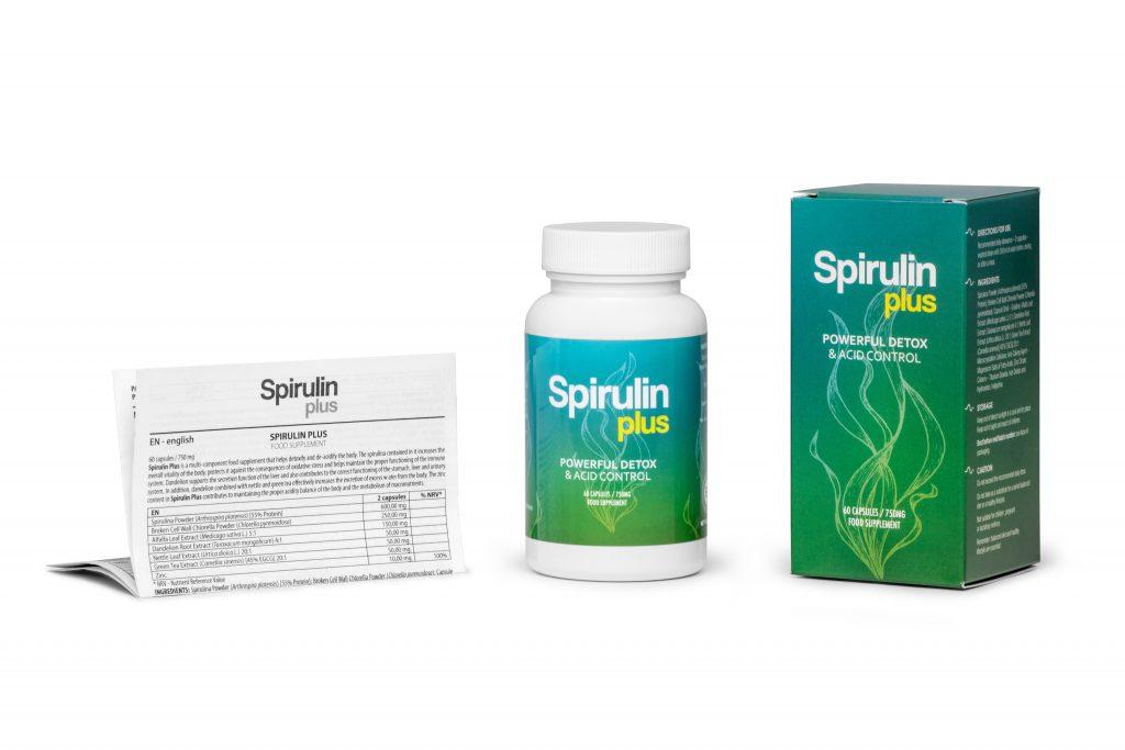 Spirulin Plus - naturalnie na detoks